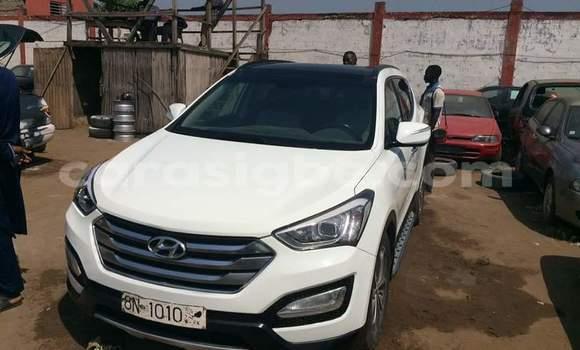 Acheter Occasion Voiture Hyundai Santa Fe Noir à Lomé, Togo