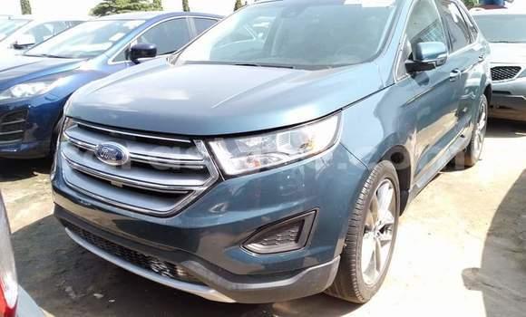 Acheter Occasion Voiture Ford Edge Noir à Lomé, Togo