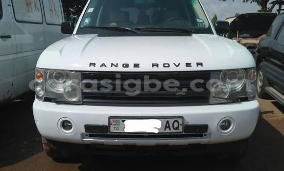 Acheter Occasion Voiture Land Rover Range Rover Vogue Blanc à Lomé, Togo