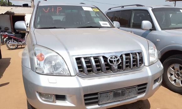 Acheter Occasion Voiture Toyota Land Cruiser Prado Gris à Lomé au Togo
