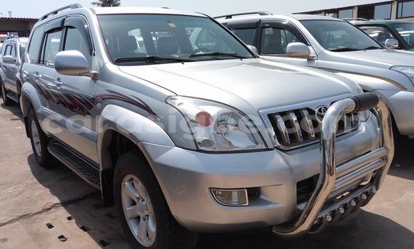 Acheter Occasion Voiture Toyota Land Cruiser Prado Gris à Lomé, Togo