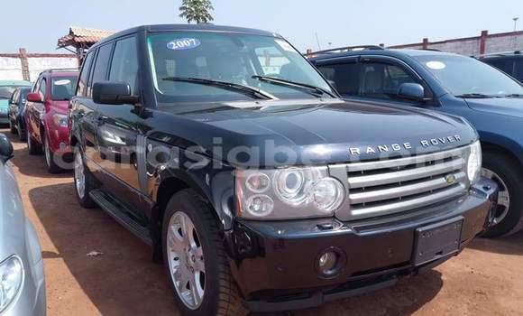 Acheter Occasion Voiture Land Rover Range Rover Vogue Noir à Lomé, Togo