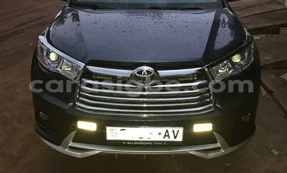 Acheter Occasion Voiture Toyota Highlander Noir à Lomé, Togo