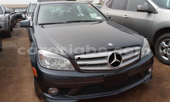 Acheter Occasion Voiture Mercedes‒Benz C–Class Noir à Lomé, Togo