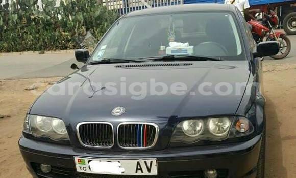 Acheter Occasion Voiture BMW 3-Series Bleu à Lomé au Togo