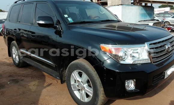 Acheter Occasion Voiture Toyota Land Cruiser Noir à Lomé, Togo