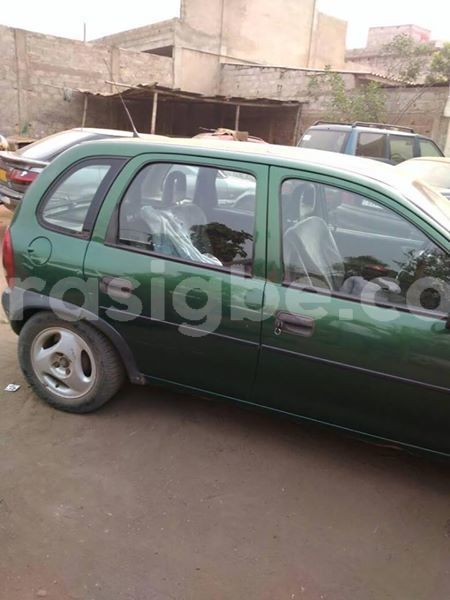 Buy Used Opel Corsa Green Car In Lome In Togo Carasigbe