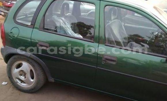 Acheter Occasion Voiture Opel Corsa Vert à Lomé au Togo