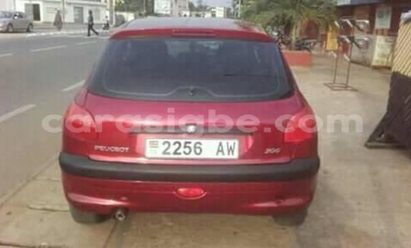 Acheter Occasion Voiture Peugeot 206 Rouge à Lomé, Togo