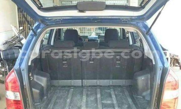 Acheter Occasions Voiture Hyundai Tucson Bleu à Lomé au Togo