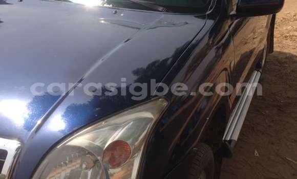 Acheter Occasion Voiture Toyota Land Cruiser Prado Bleu à Lomé au Togo