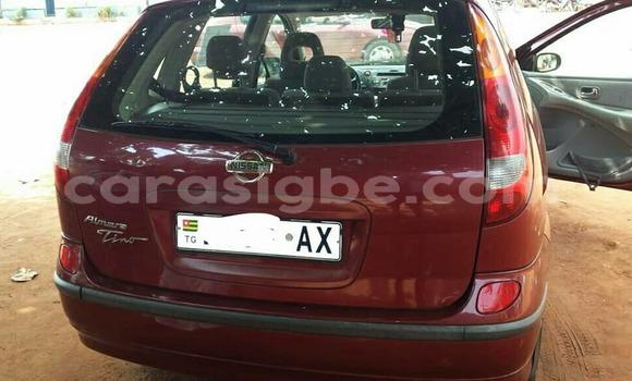 Acheter Occasion Voiture Nissan Almera Rouge à Lomé, Togo