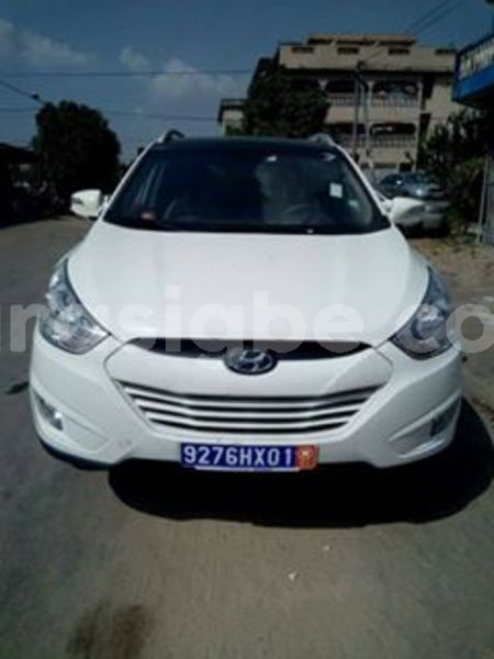 buy used hyundai ix35 white car in tsvi in togo carasigbe