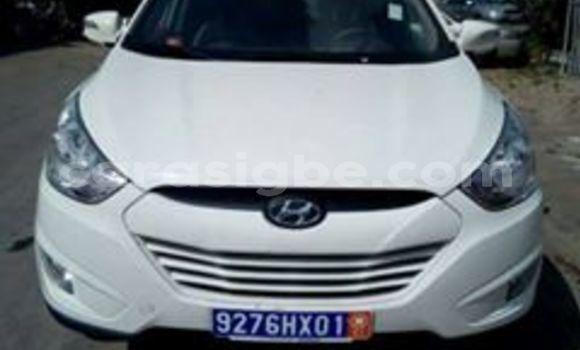 Acheter Occasion Voiture Hyundai ix35 Blanc à Tsévié au Togo