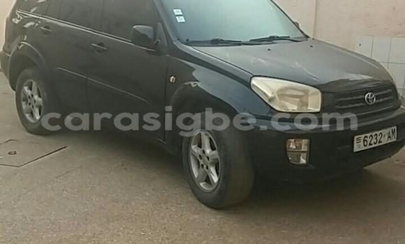 Acheter Occasion Voiture Toyota RAV4 Noir à Lomé, Togo