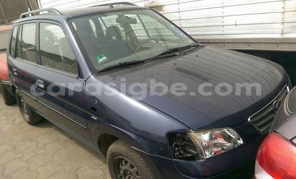 Acheter Occasion Voiture Mazda Demio Bleu à Lomé au Togo