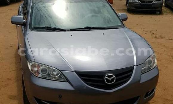 Acheter Occasion Voiture Mazda Mazda 3 Gris à Lomé au Togo