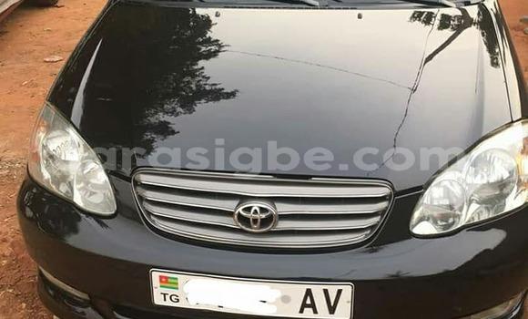 Acheter Occasion Voiture Toyota Corolla Noir à Lomé au Togo