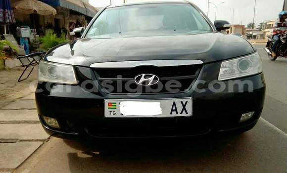 Acheter Occasion Voiture Hyundai Sonata Noir à Lomé au Togo