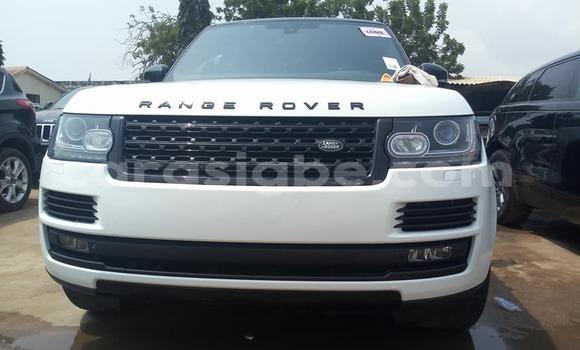 Acheter Occasion Voiture Land Rover Range Rover Vogue Blanc à Lomé au Togo