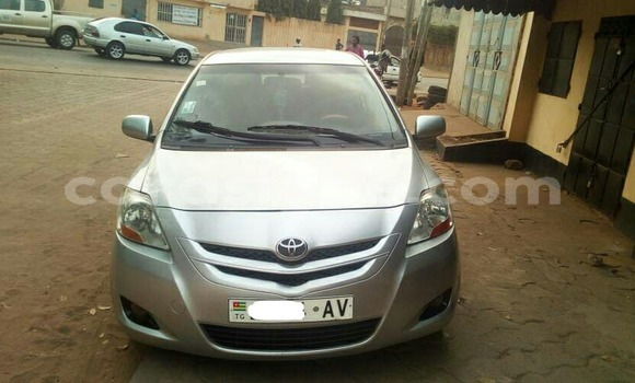 Buy Used Toyota Yaris Silver Car in Lome in Togo