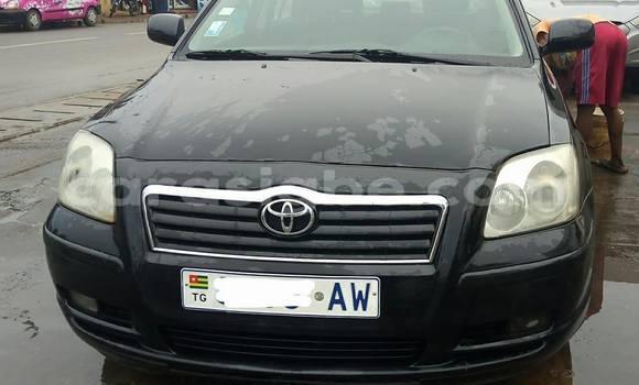 Acheter Occasion Voiture Toyota Avensis Noir à Lomé au Togo