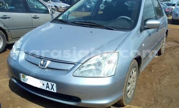 Acheter Occasion Voiture Honda Civic Gris à Lomé au Togo