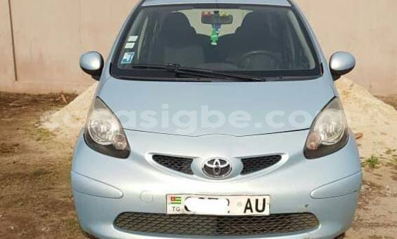 Buy Used Toyota Aygo Silver Car in Lome in Togo