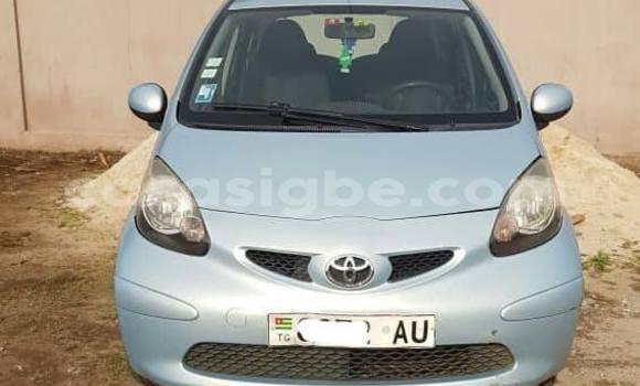 Acheter Occasion Voiture Toyota Aygo Gris à Lomé au Togo