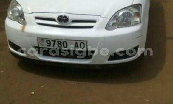 Acheter Occasion Voiture Toyota Corolla Blanc à Lomé, Togo