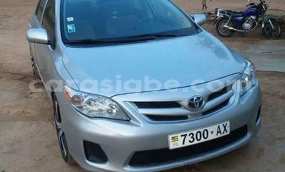 Acheter Occasion Voiture Toyota Corolla Gris à Lomé, Togo