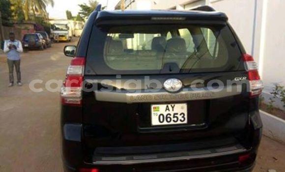 Acheter Occasion Voiture Toyota Land Cruiser Prado Noir à Lomé, Togo