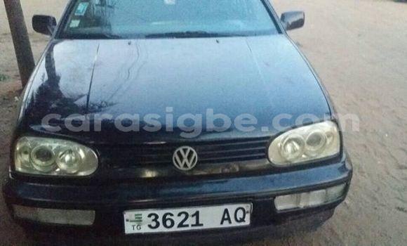 Acheter Occasion Voiture Volkswagen Golf Noir à Lomé, Togo