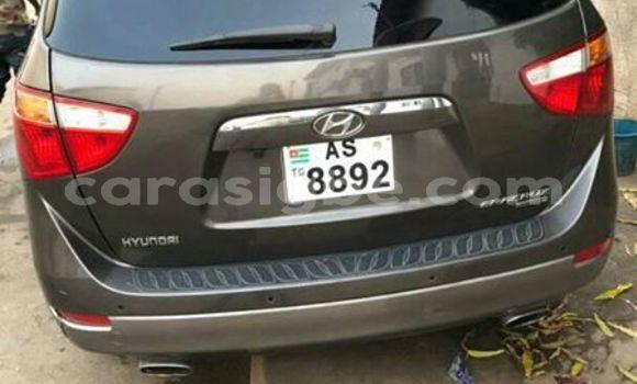 Acheter Occasion Voiture Hyundai Veracruz Gris à Lomé, Togo