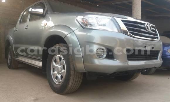 Acheter Occasion Voiture Toyota Hilux Gris à Lomé au Togo