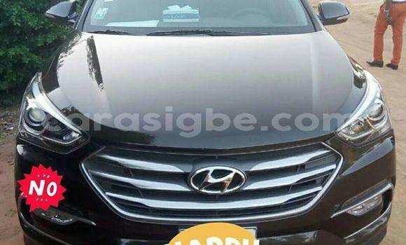 Acheter Occasions Voiture Hyundai Santa Fe Noir à Lomé au Togo