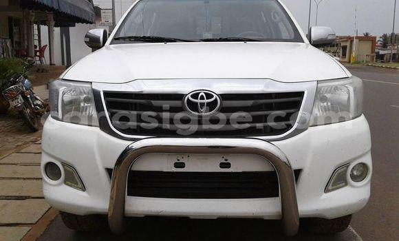 Acheter Occasion Voiture Toyota Hilux Blanc à Lomé, Togo