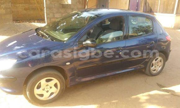 Acheter Occasion Voiture Peugeot 206 Bleu à Lomé, Togo
