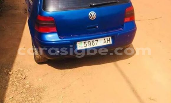 Acheter Occasion Voiture Volkswagen Golf Bleu à Lomé, Togo