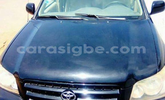 Acheter Occasion Voiture Toyota Highlander Noir à Lomé au Togo