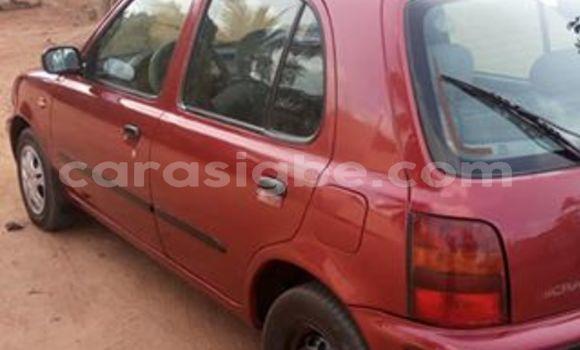 Acheter Occasion Voiture Nissan Micra Rouge à Lomé, Togo