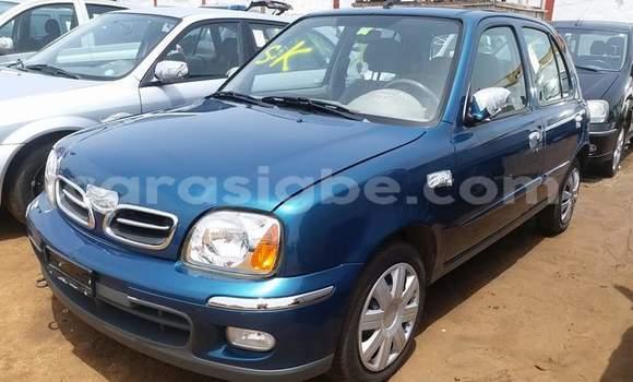 Acheter Occasion Voiture Nissan Micra Bleu à Lomé, Togo