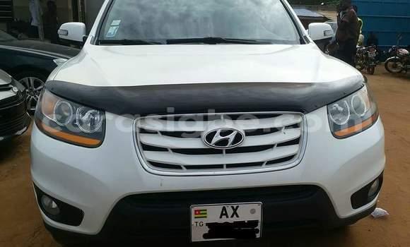 Acheter Occasion Voiture Hyundai Santa Fe Blanc à Lomé au Togo