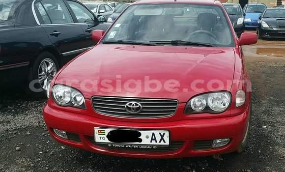 Acheter Occasion Voiture Toyota Corolla Rouge à Lomé au Togo