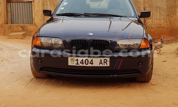 Acheter Occasion Voiture BMW E46 Bleu à Lomé, Togo