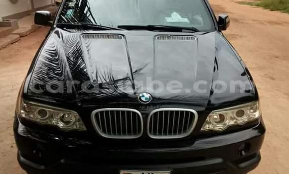 Acheter Occasion Voiture BMW X5 Noir à Lomé au Togo