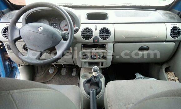 Acheter Occasion Voiture Renault Kangoo Bleu à Lomé au Togo