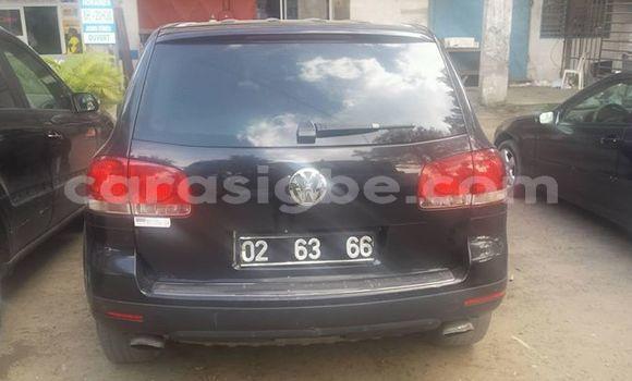 Acheter Occasion Voiture Volkswagen Touareg Noir à Lomé au Togo