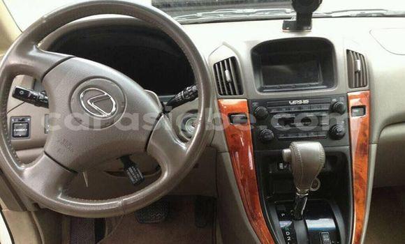 Acheter Occasion Voiture Lexus RX 300 Blanc à Lomé au Togo