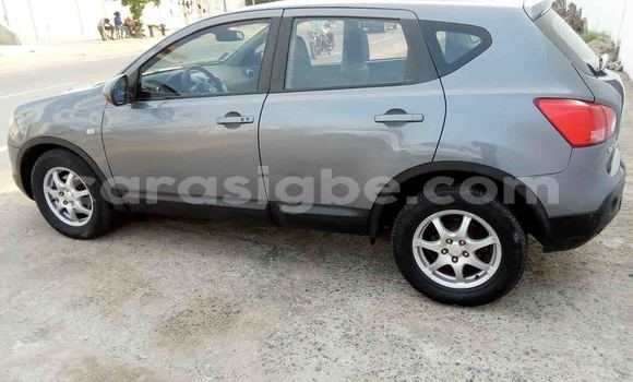 Acheter Occasion Voiture Nissan Qashqai Gris à Lomé au Togo